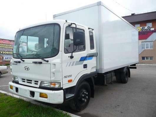 Фургон на шасси Hyundai HD120 (Long): в Красноярске Фото 2