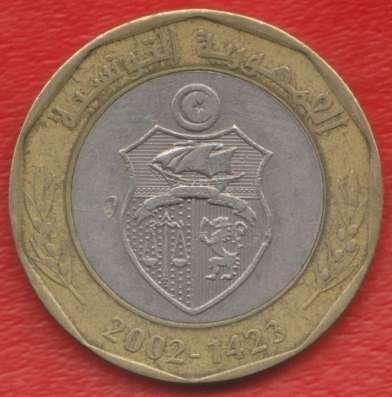 Тунис 5 динар 2002 г.