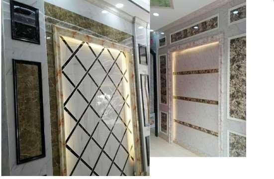 Декоративный багет, плинтусы (фризы) из ПВХ шириной 120мм в г. Ташкент Фото 1