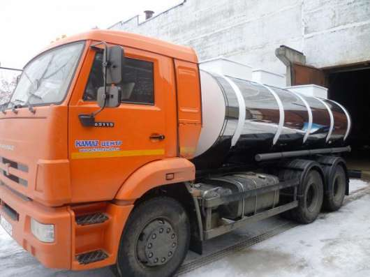 Молоковозы объемом до 10 м3 на шасси МАЗ 5340В2, КАМАЗ 53605 (Евро-4) в Нижнем Новгороде Фото 1