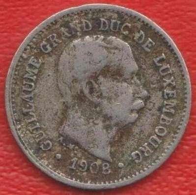 Люксембург 5 сантимов 1908 г в Орле Фото 1