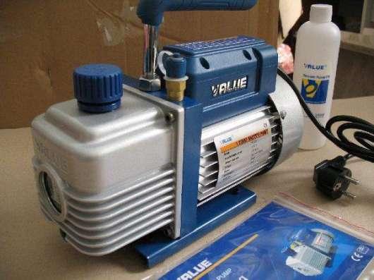Вакуумный насос VALUE VE-215 (2ст 42л/мин)