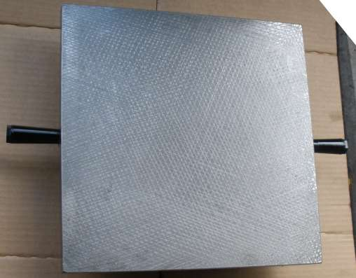 Плита поверочная чугунная 1-1-400х400 ГОСТ 10905-86