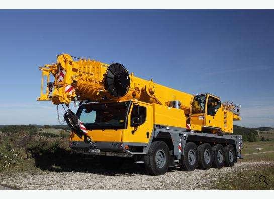 Аренда автокрана 100 тонн 52(85) метра Liebherr LTM 1100