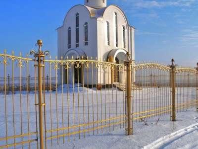 "Металлические ворота на заказ ""ГРАД"""