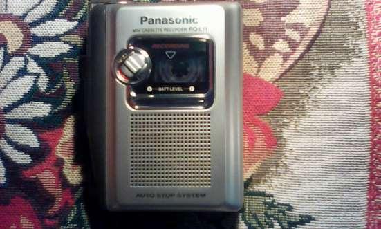 Диктофон кассетный, НОВЫЙ, ПАНАСОНИК, 990 Р