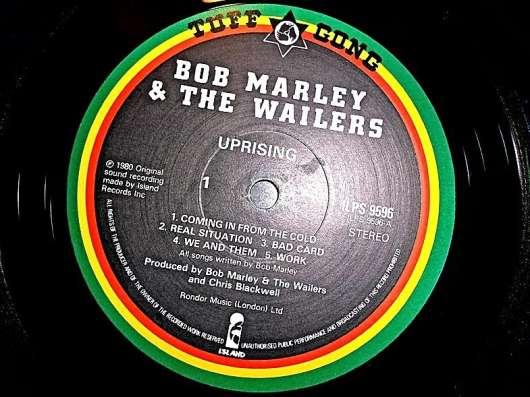 Пластинка виниловая Bob Marley - Uprising