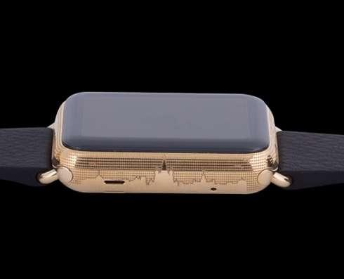 Наручные Apple Watch Epoca Putin Leather,золотые,унисекс