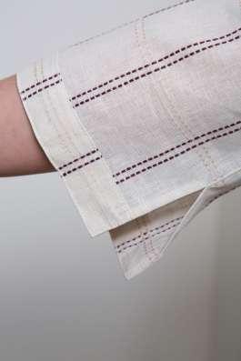 Туника женская 100% лен вышивка марки LOOK в Владивостоке Фото 1