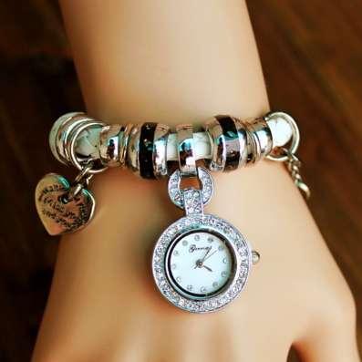 Роскошные часы-браслет Pandora в Москве Фото 1