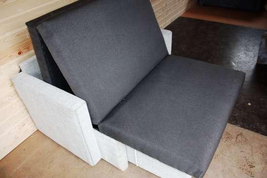 Выкатное большое кресло в рогожке 90 см в Санкт-Петербурге Фото 4