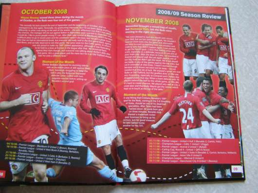 Manchester united annual 2010 футболоманам Манчестер Юнайтед