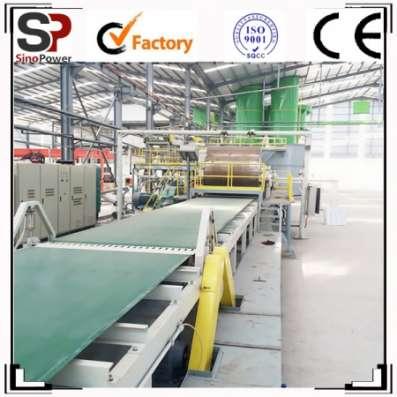 Оборудование для производства фиброцементной фасадной панели