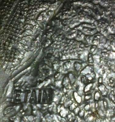 Панно из олова, Франция, 70-е гг.