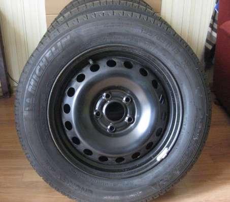Для Рено Кенгу, шины на стальных дисках, родные, новые