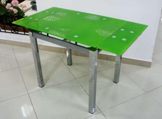 Стеклянный раздвижной стол Анжелика Китай А1726 в Москве Фото 4