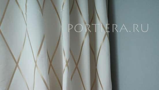 Готовые шторы Art Deco White