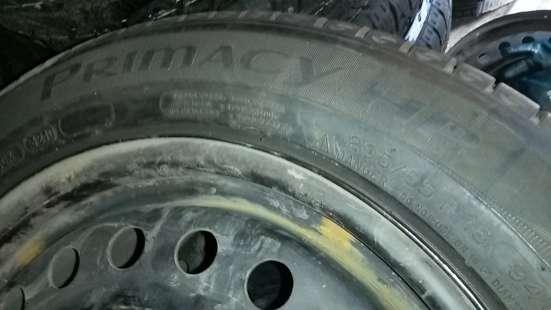 R16 205/55 94V Michelin и диски 5х114- в Красноярске Фото 4