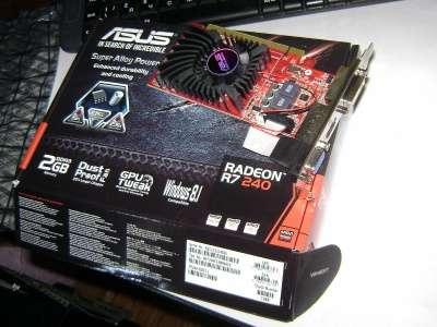 видеокарту ASUS RadeonR7 240PCI-E2Gb