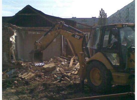 Расчистка земельного участка.