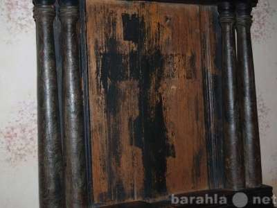 подвесной киот для иконы, кон. XVIII в. Русский Север