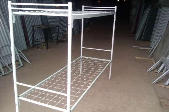 Кровать металлическая армейского типа