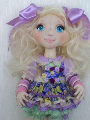 Текстильная интерьерная кукла СОФИЙКА
