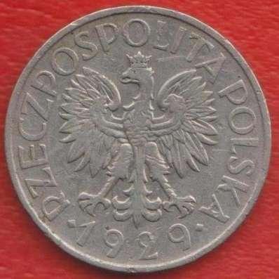 Польша 1 злотый 1929 г в Орле Фото 1