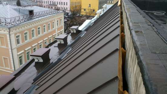 Кровля в Москве Фото 1