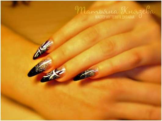 Наращивание ногтей акрилом, все виды дизайна ногтей