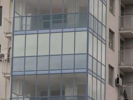 Тонирование балконов