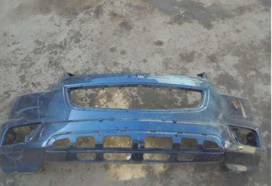 Бампер передний бу для шевроле трайл блейзер