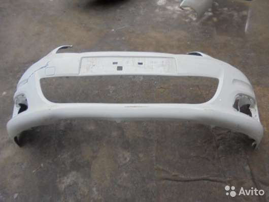 Задний бампер Citroen С4