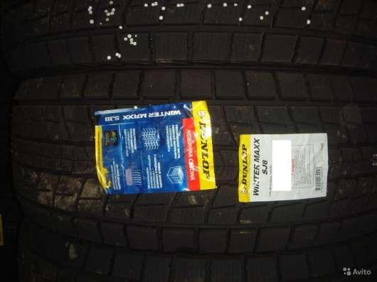 Новые липучки Dunlop 265/70 R16 Winter Maxx SJ8