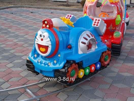 Аттракцион, детская железная дорога в Москве Фото 1
