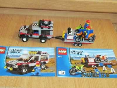 игрушку Лего сити Транспортёр мотоциклов