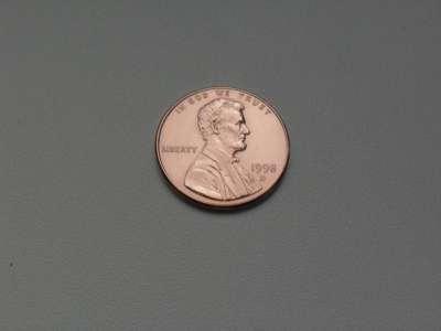 Монета 1 Цент 1998 год D США в Москве Фото 1