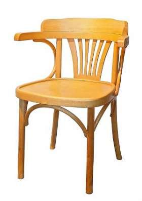 Деревянное венское кресло Роза.