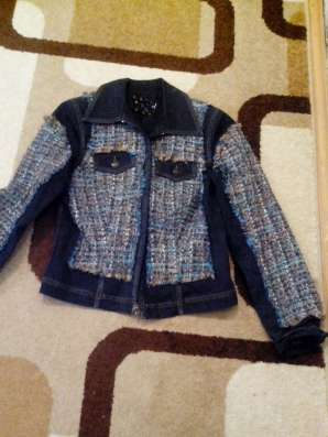 Куртку джинсовую