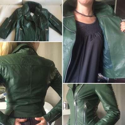 Куртка новая мягкая кожа