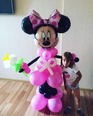 Гелиевые шары, фигуры, цветы с доставкой в Краснодаре Фото 6