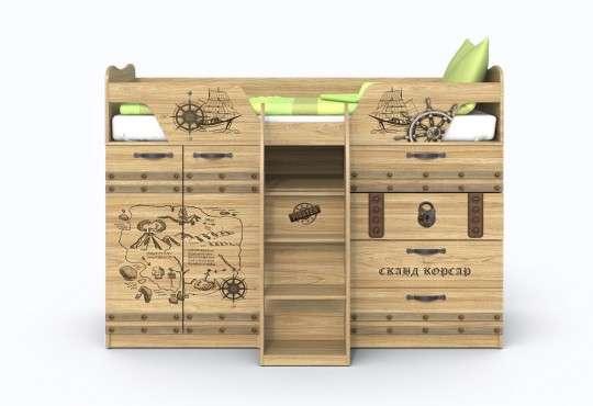 Кровать чердак с выдвижным столом в Твери Фото 1