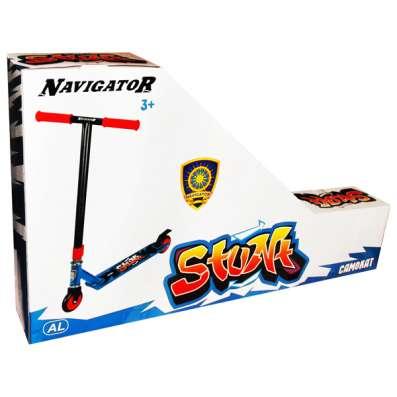 Самокат Navigator трюковой, двухколесный