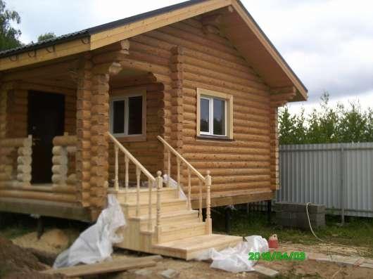 Отделка деревянных домов в Москве Фото 3