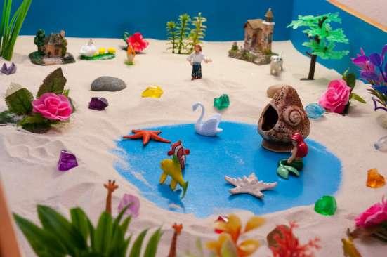 """Песочная терапия """"Sand Play"""" для детей от 3-х лет"""