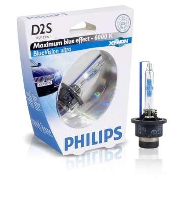 Лампа ксеноновая D2S PHILIPS Xenon Standard 85V/35W (4300K)