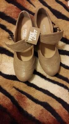 Новые бежевые туфли 38 и 39 размер