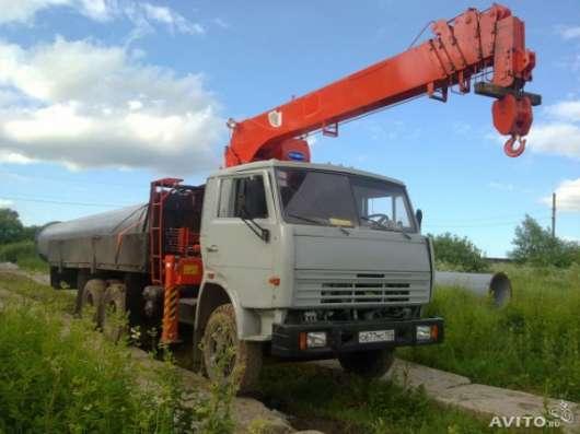 Услуги Аренда Заказ автокрана автовышки манипулятора в Подольске - Подольском районе Фото 2