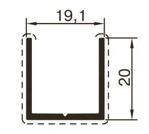 Профиль для сантехнических перегородок в Казани Фото 1