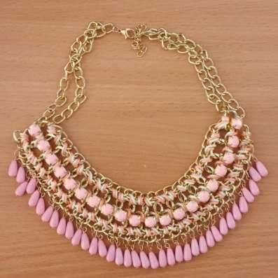Стильное колье ожерелье в винтажном стиле